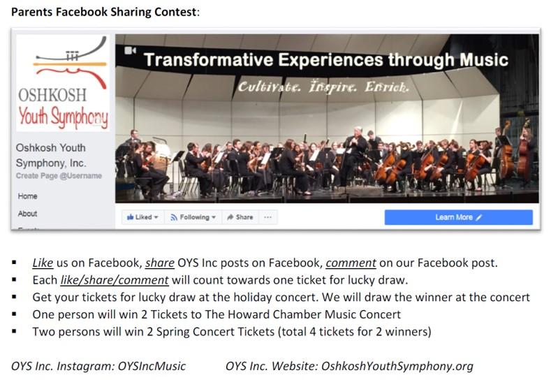 2018 Social Media Sharing Contest – Part 2 (Facebook Sharing Contest)